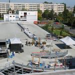 Gegen 10:45 Uhr standen bereits alle Pinwände zur Präsentation der Geschichte des berliner STARThilfe e.V. Bild: Ines Fischer