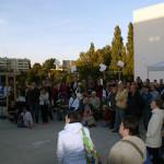 Interessiertes Publikum während der Filmvorführung. Foto: Ines Fischer