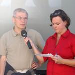 Interverview mit dem Vorstandsvorsitzendem Helmut Scheffler. Foto: Tamara Helm