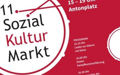 Der berliner STARThilfe e.V beim 11. Sozial-Kultur-Markt