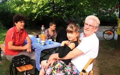 Frühlingshaftes Sommerfest unserer WG Pankow