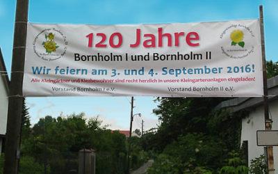 """""""120 Jahre Bornholmer Gärten"""" in Prenzlauer Berg"""