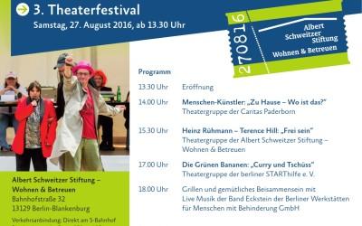 Die Grünen Bananen beim 3.Theaterfestival Berlin