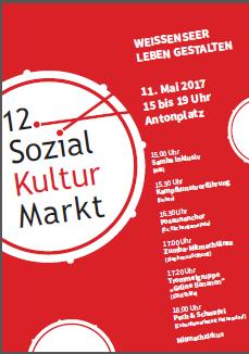 Der berliner STARThilfe e.V beim 12. Sozial-Kultur-Markt