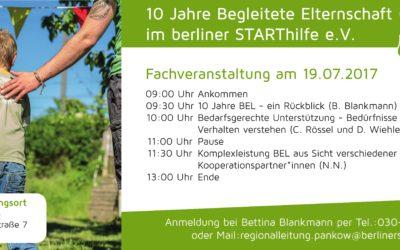 10 Jahre Begleitete Elternschaft im berliner STARThilfe e.V.