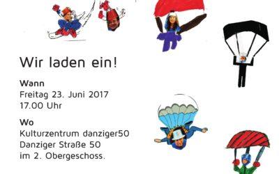 Der Fallschirm – Theater-Aufführung der Grünen Bananen