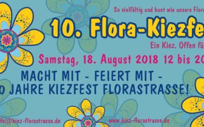 Kiezfest in der Florastraße