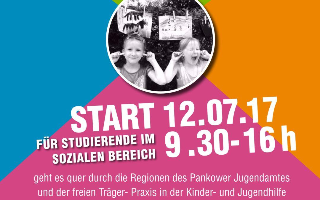 Tour de Chance – die Pankower Bezirksrallye für Studierende im sozialen Bereich