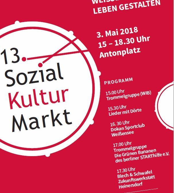Der berliner STARThilfe e.V beim 13. Sozial-Kultur-Markt