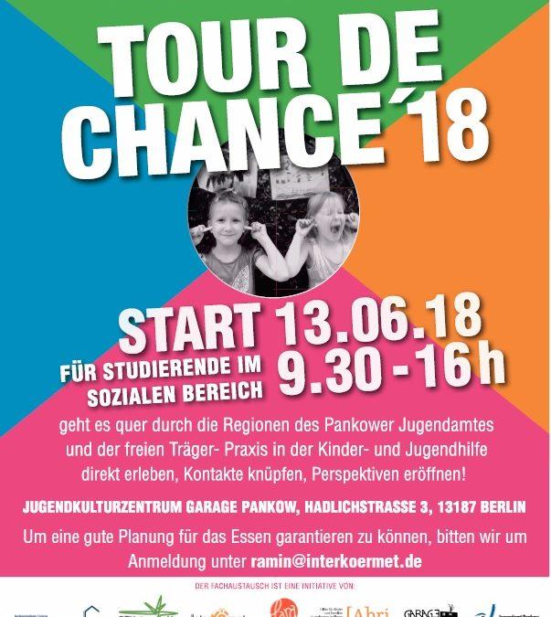 Tour de Chance 2018 –  die Pankower Bezirksrallye für Studierende im Sozialen Bereich