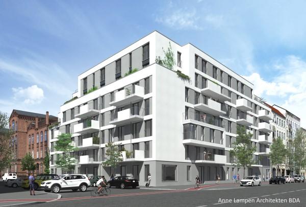 """Das Modellprojekt """"Gotenburger Straße""""."""